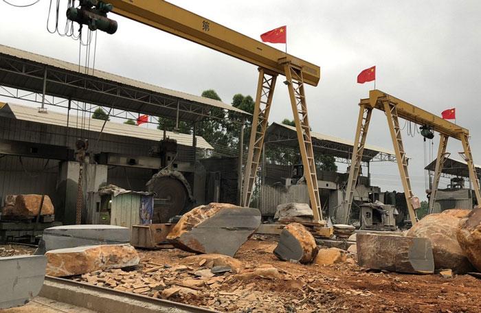 石材厂房机器设备